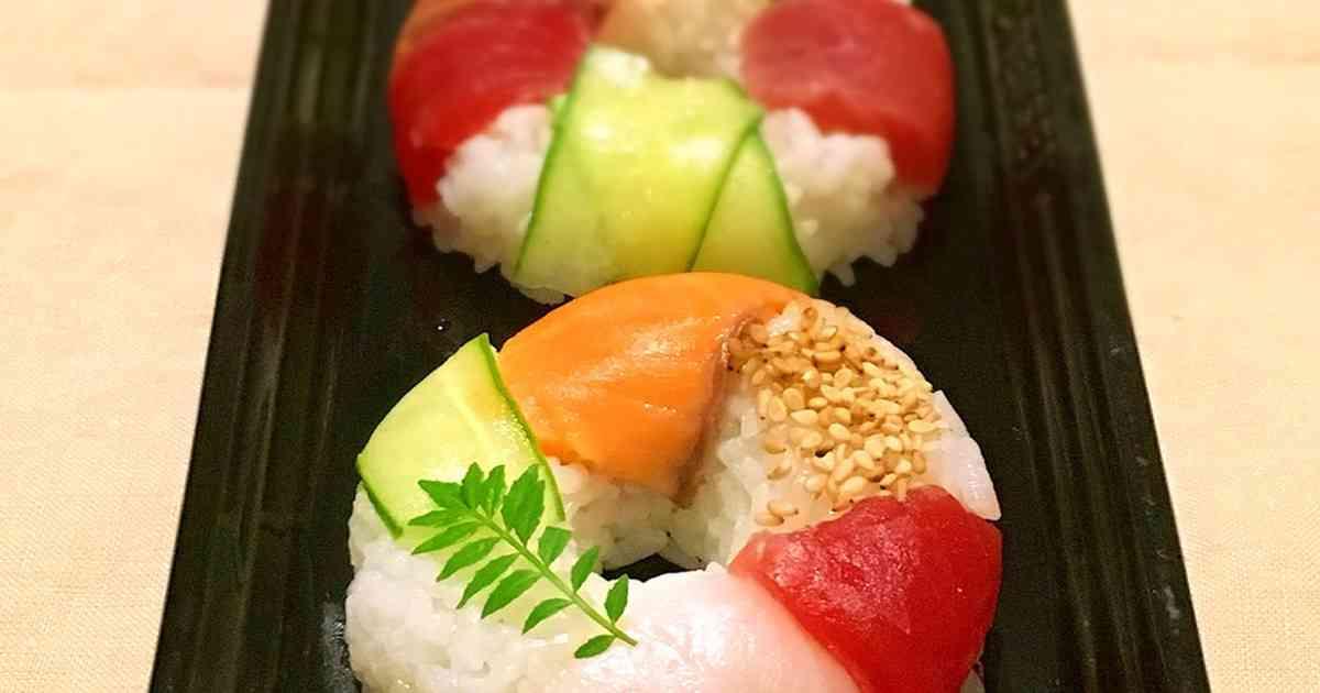 キュートなスシド☆簡単!寿司ドーナツ by アイスもなか冷 [クックパッド] 簡単おいしいみんなのレシピが263万品