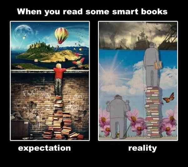 理想と現実を感じる画像をください