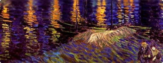 ゴッホの絵をチルトシフト撮影でミニチュア風にしてみた : カラパイア