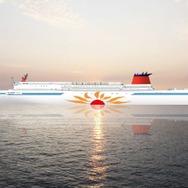 「さんふらわあ」新造船2隻が就航---半分が個室 2017年5月と8月 | レスポンス(Response.jp)