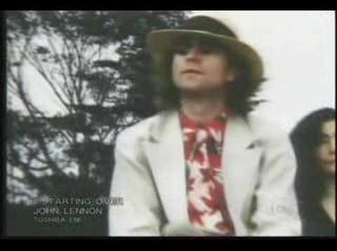 John Lennon - Starting Over - YouTube