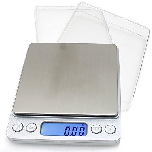 薄型 精密 デジタル スケール 0.01g単位 500gまで計量 :B013FWLUOE:ワーキングドア - 通販 - Yahoo!ショッピング