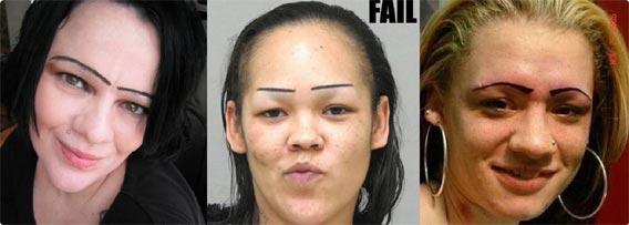 眉毛の印象が強すぎてなにがなんだかわからない14人の画像 : カラパイア