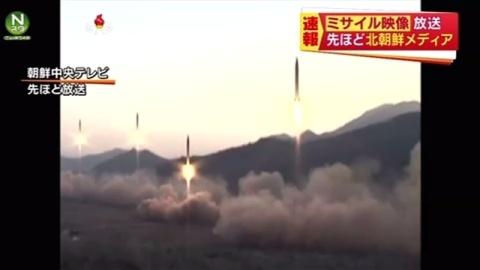 朝鮮中央テレビ、ミサイル映像を放送(TBS系(JNN)) - Yahoo!ニュース