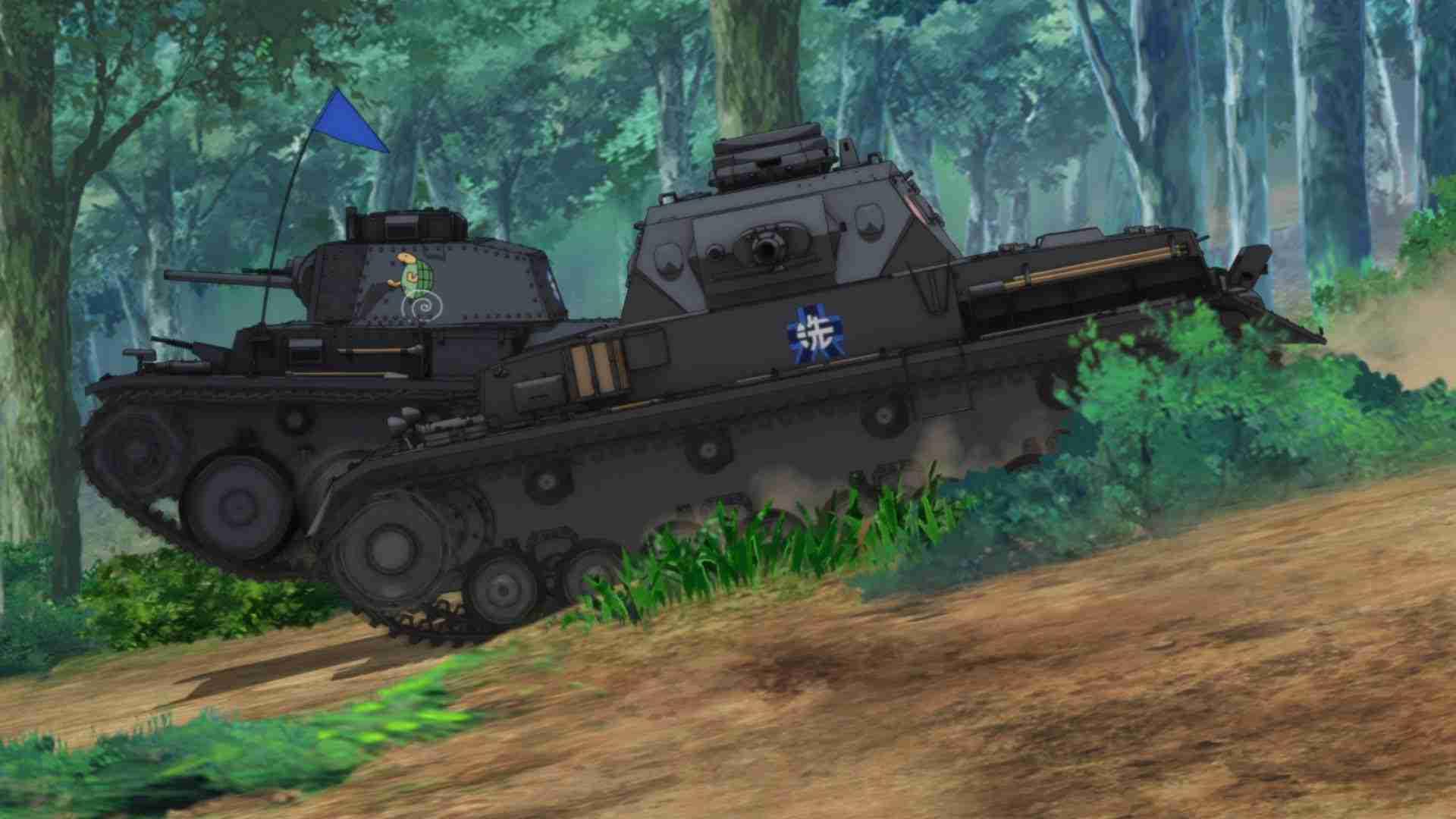 OVA「ガールズ&パンツァー これが本当のアンツィオ戦です!」劇場本予告 - YouTube