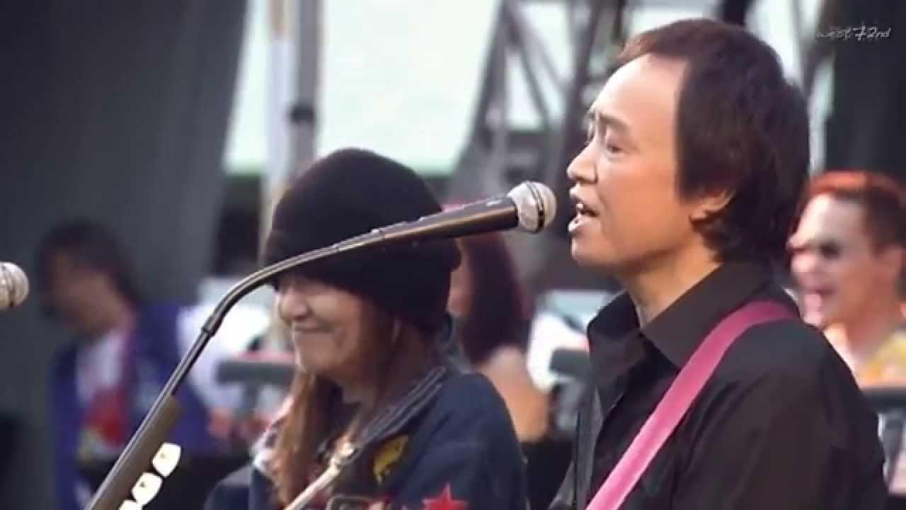 吉田拓郎 & ムッシュかまやつ M2 ♪我が良き友よ @ つま恋 2006【HD】 - YouTube