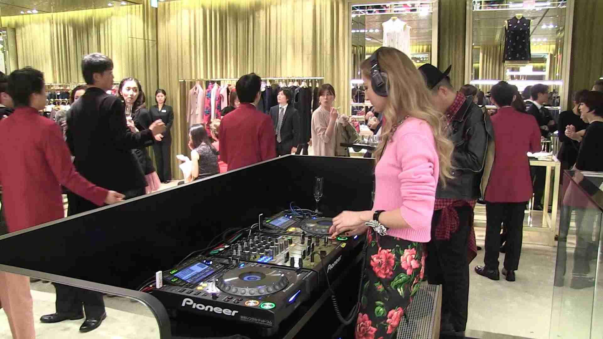 Miu Miu Party DJ VANCLIFFE/Elli-Rose - YouTube