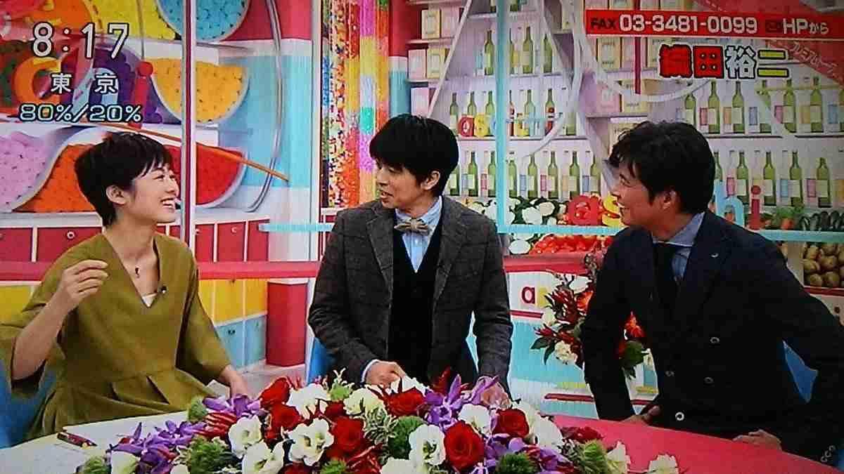 V6井ノ原快彦は完全スルー!NHK有働由美子アナのアラフィフギャグに視聴者が呆然