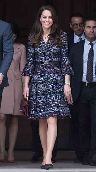 キャサリン妃、パリ2日目はシャネルのオーダーメイドでファッション外交