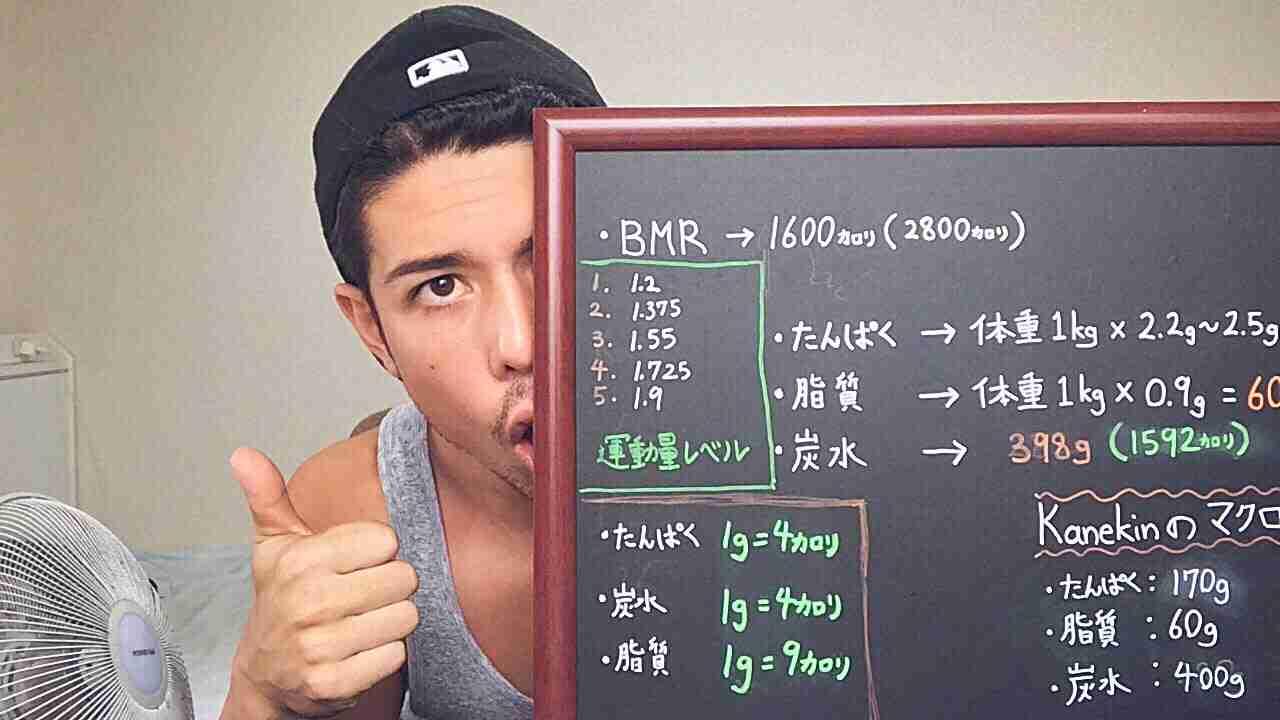 【筋トレ】マクロ栄養素の計算の仕方 - YouTube