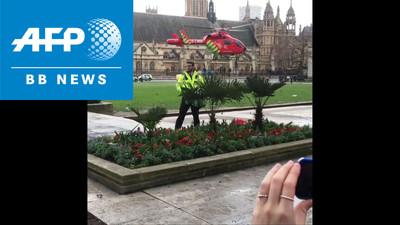 英国会近くで襲撃、4人死亡40人負傷 イスラム主義者のテロか (AFPBB News) - Yahoo!ニュース