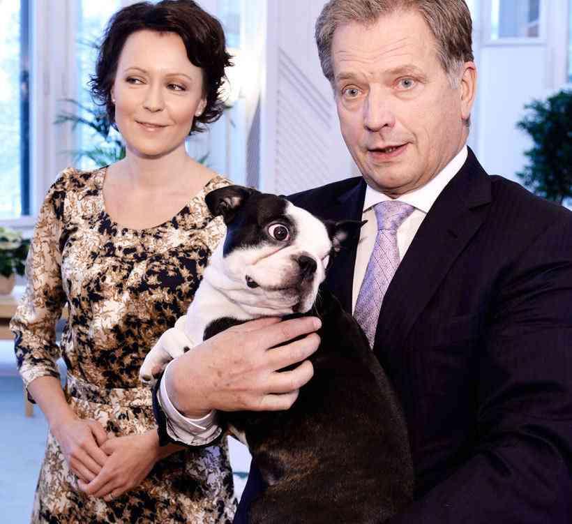 フィンランド大統領のペット犬の笑顔がとってもキュート!