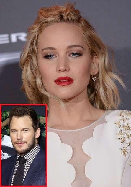 ジェニファー・ローレンス、既婚クリス・プラットとの濡れ場撮影に罪悪感。