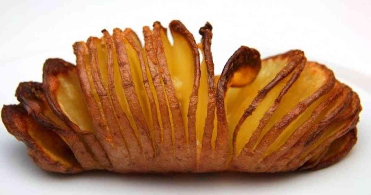 ☆スウェーデンのハッセルバックポテト☆ by ElisabethF [クックパッド] 簡単おいしいみんなのレシピが262万品