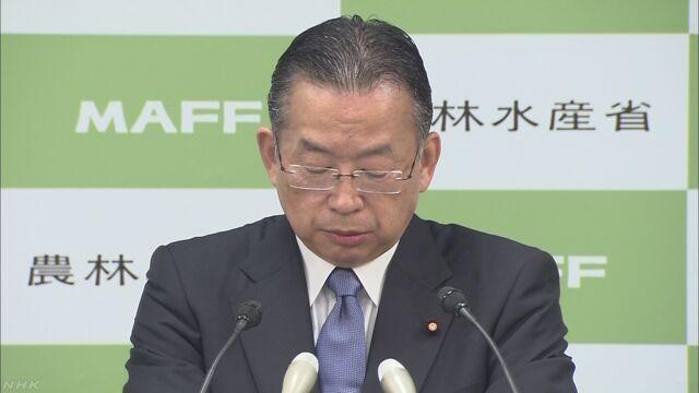 農相 「輸入禁止の日本食品販売」の中国報道は事実誤認 | NHKニュース