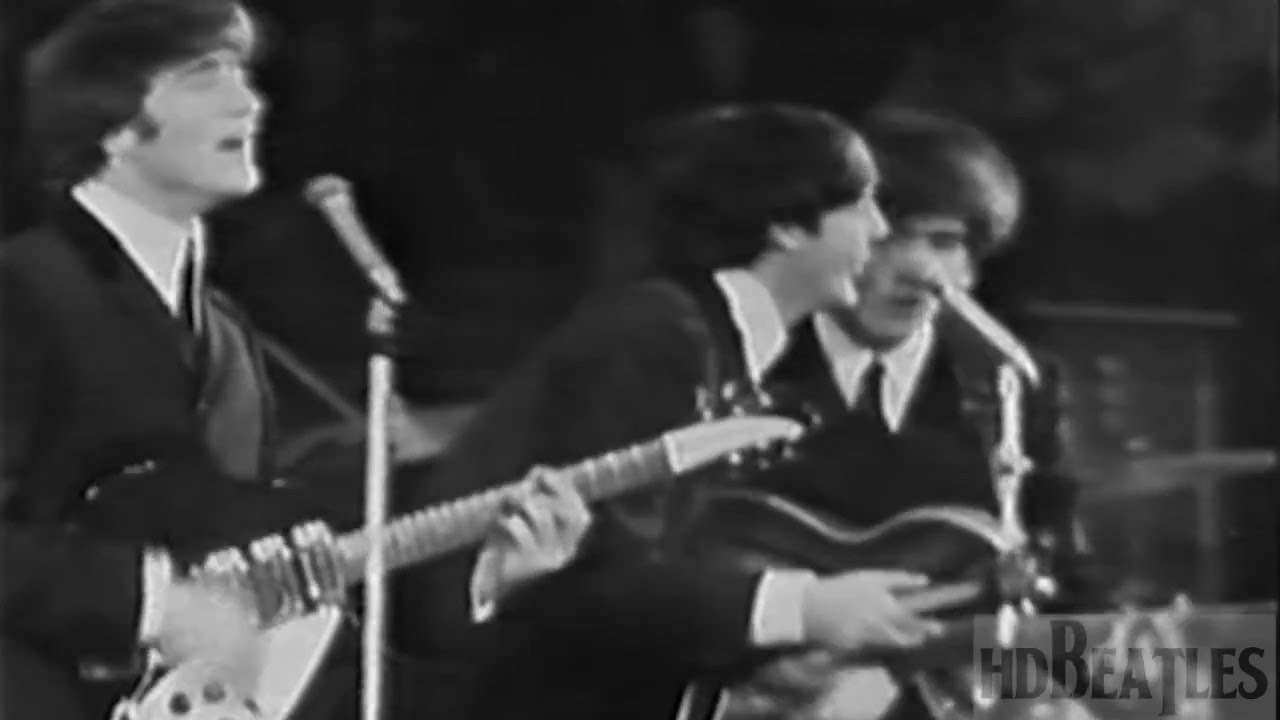 The Beatles - Twist and Shout [NME Poll-Winners, Empire Pool, Wembley, London] - YouTube