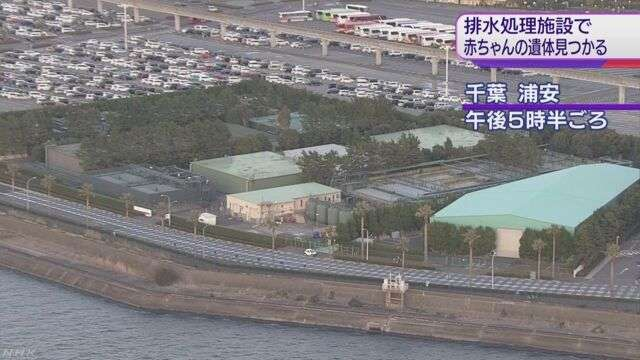 東京ディズニーランド排水処理施設に赤ちゃんの遺体 | NHKニュース
