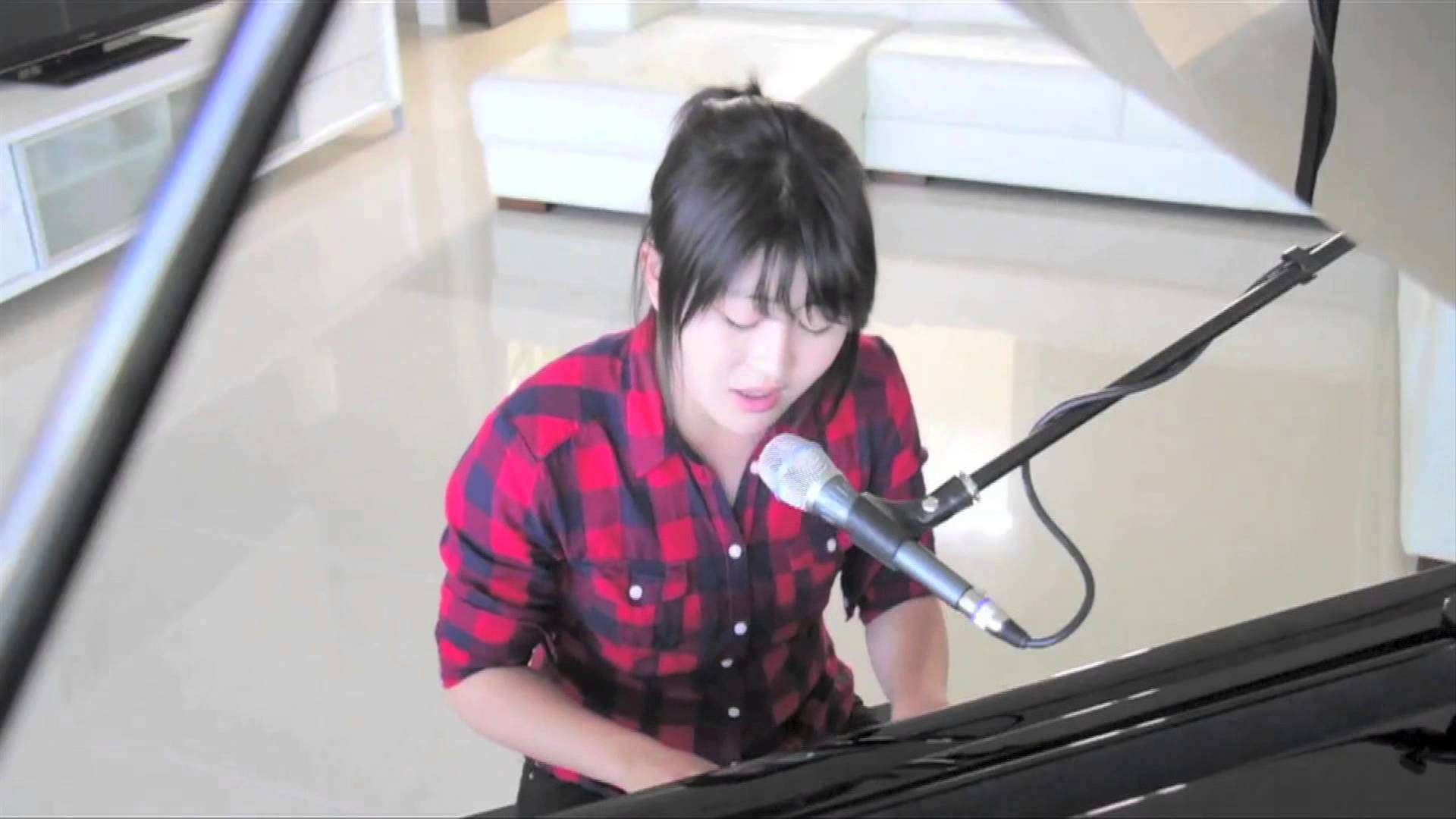 kaho 『broken hearted girl(Beyonce cover)』 - YouTube