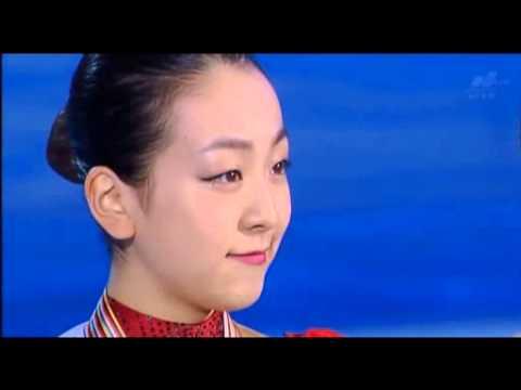 浅田真央選手の「君が代」を途中でカットしたフジテレビ - YouTube
