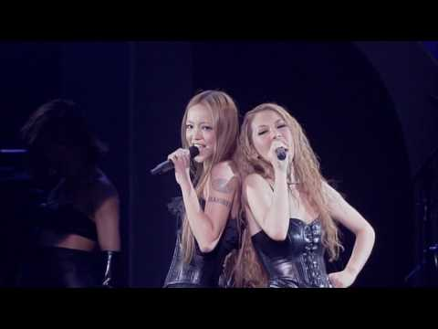 DOUBLE x 安室奈美恵 - BLACK DIAMOND (2008 DOUBLE BEST LIVE We R&B) - YouTube