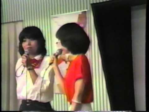 超秘蔵映像!1981年懐かしの戸田恵子&麻上洋子 inアニメフェスティバル - YouTube