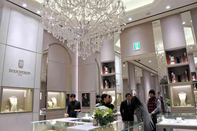 高級宝飾店、名古屋に続々 「人口以上の購買力」に注目:朝日新聞デジタル