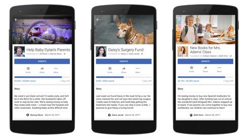 Facebook、個人で募金を集められる機能を発表 自分や友達、ペットなどのために利用可能