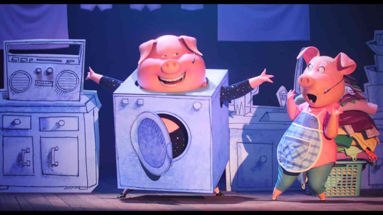 『SING/シング』斎藤さんと坂本真綾が♪「シェイク・イト・オフ」を踊る本編映像 - YouTube
