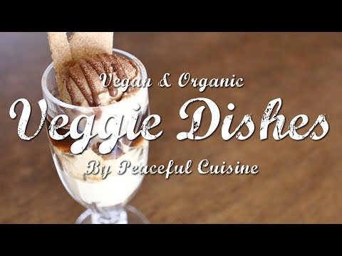 乳製品を使わない濃厚エスプレッソアイスのつくり方: How to Make Vegan Espresso Ice Cream | Veggie Dishes by Peaceful Cuisine - YouTube
