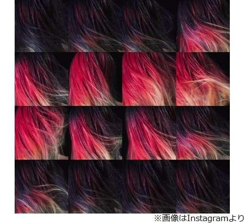 """世界初!温度で髪の色が変わる魔法のようなヘアカラー""""FIRE"""
