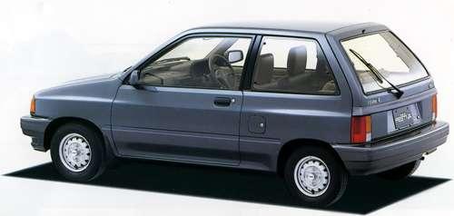 [復活を熱望]日本フォード・フェスティバ(初代) : 2台で98ps(72kw)のエコカー生活。