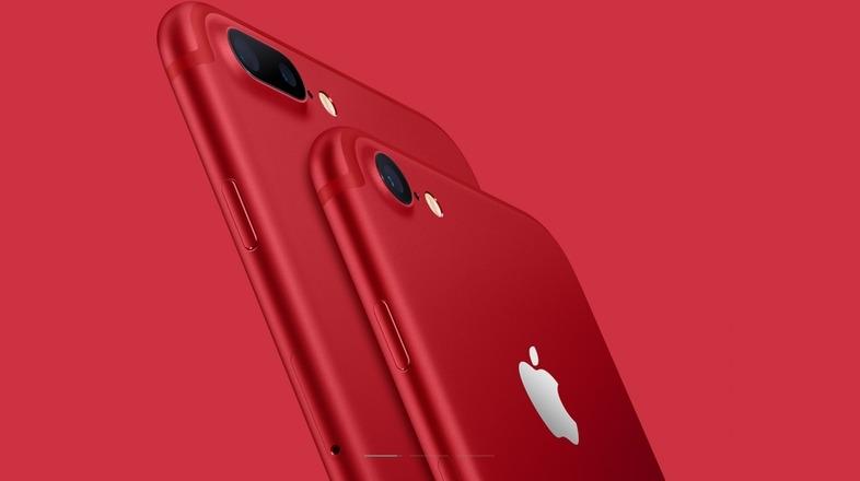 わお、ほんとに真っ赤っか! iPhone 7/7 Plusに新色登場|ギズモード・ジャパン