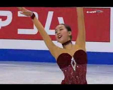 Mao Asada 2008 Worlds FS - YouTube