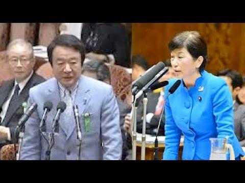青山繁晴が国会で北の拉致問題について質問しだすとなぜか逃げ出す福島瑞穂 - YouTube
