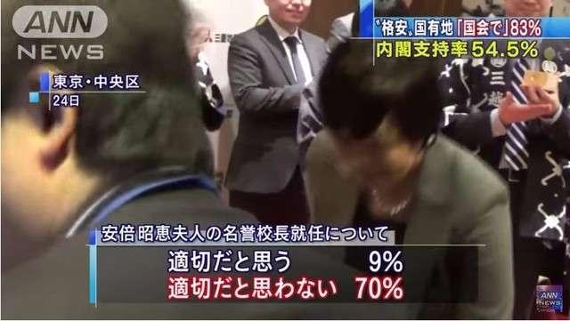 森友学園問題「国会審議で真相究明が必要」83%!「安倍昭恵さんの名誉校長就任は不適切」70%! - わんわんらっぱー