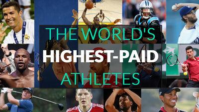 「世界で最も稼いでいるスポーツ選手2016」が発表、トップ100には錦織圭選手や田中将大選手がランクイン - GIGAZINE