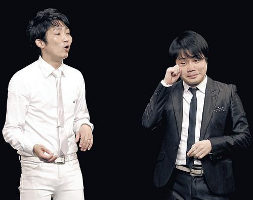 ノンスタ井上裕介、涙の電撃復帰「本当にすみません」 109日ぶり石田明と漫才9分間