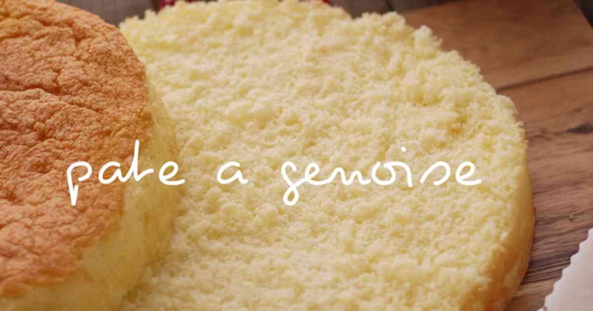パティシエのジェノワーズ*スポンジケーキ by milk*crown [クックパッド] 簡単おいしいみんなのレシピが262万品
