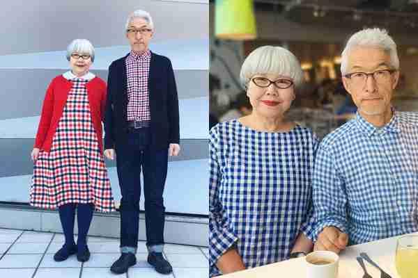 外出はいつもお揃いの服で…結婚37年のご夫婦に海外からも称賛の声