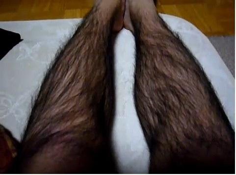男性の足が好きだ