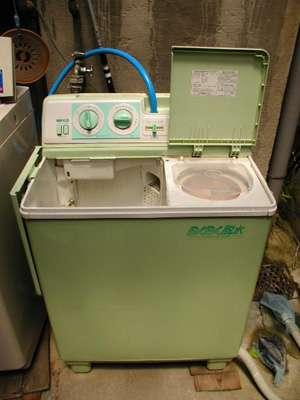洗濯機が外にある人いますか?
