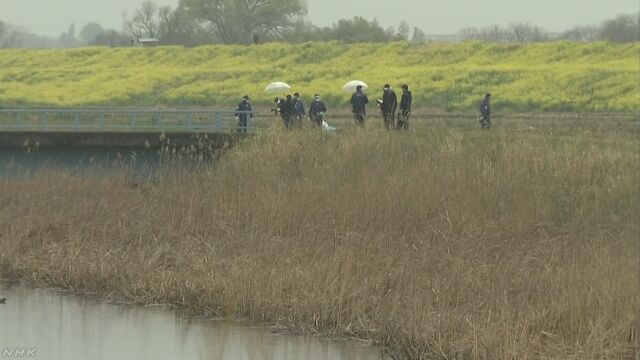 排水路の脇で10歳くらいの女児の遺体 千葉 我孫子 | NHKニュース