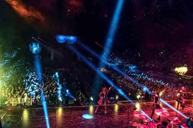 BABYMETALの日本人初ウェンブリーアリーナ公演、完全収録で映像化 - 音楽ナタリー