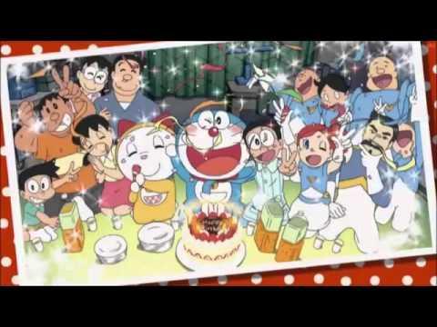 Happy ☆ Lucky Birthday! (ハッピー☆ラッキー・バースデー! ) - Doraemon - YouTube
