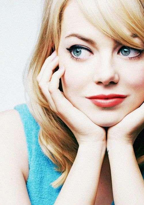 青くて大きな瞳 : 【高画質】エマ・ストーンが可愛すぎる!!アカデミー賞を受賞した女優エマ・ストーンの待受、壁紙画像集 - NAVER まとめ