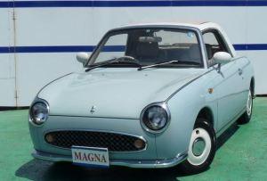 元祖レトロでおしゃれな車 日産のフィガロ