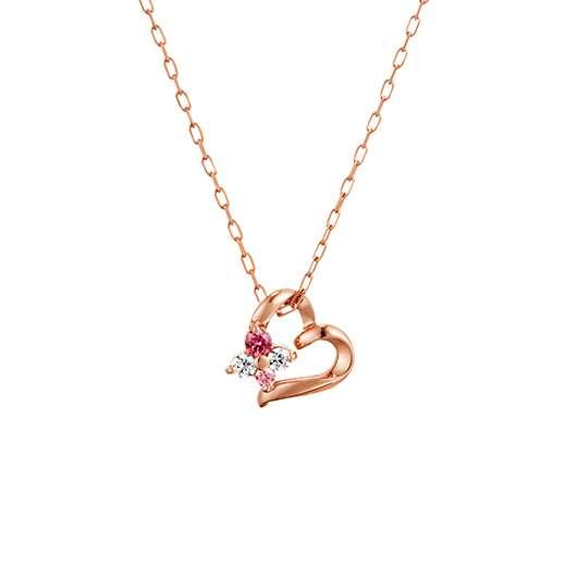 【4℃ジュエリー】K10ピンクゴールドネックレス|ネックレスや指輪、ペアリングなど大切な人への特別なプレゼントに