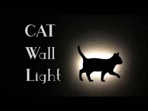 CAT Wall Light キャットウォールライト イメージ&使用方法 vol.2 - YouTube