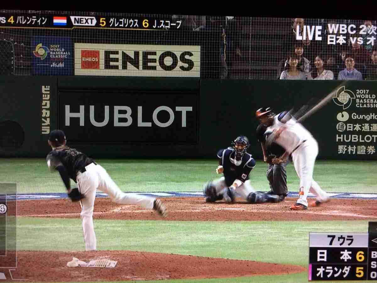 侍ジャパン 死闘のオランダ戦 瞬間最高視聴率32・6%を記録!平均視聴率25.2%!