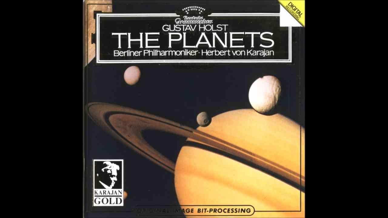 ホルスト - 組曲《惑星》Op.32 カラヤン ベルリンフィル 1981 - YouTube